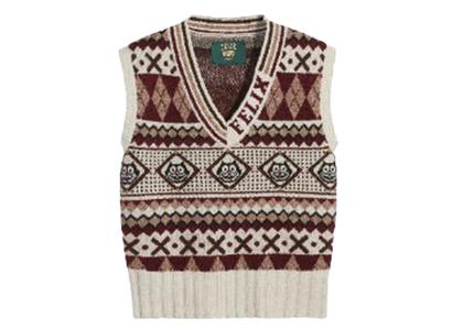 Felix × Levi's Sweater Vest Redの写真
