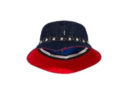 Felix × Levi's Reversible Bucket Hat Indigoの写真