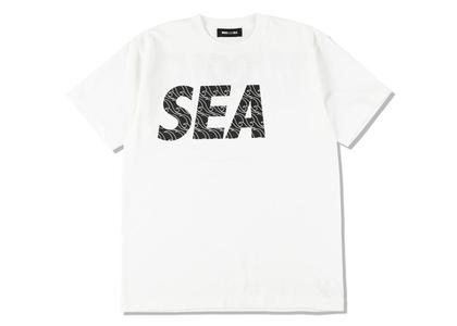 Jun Matsui × WIND AND SEA T-Shirt White-Blackの写真