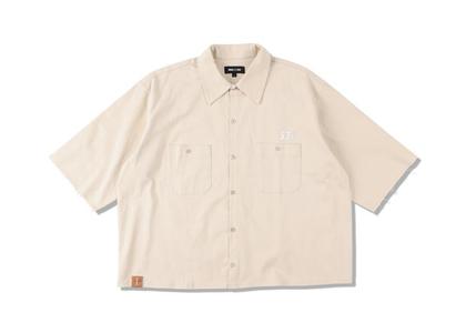 WIND AND SEA A32 H/S Cut-Off Work Shirt Beigeの写真