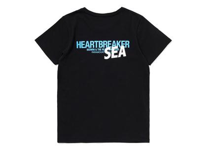 Bedwin × WIND AND SEA Female T-Shirt Blueの写真