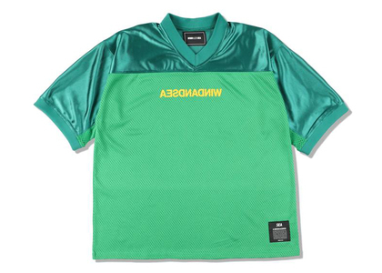 WIND AND SEA A32 Football Jersey Greenの写真