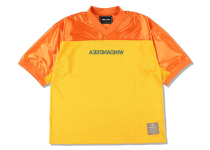 WIND AND SEA A32 Football Jersey Orangeの写真