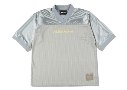 WIND AND SEA A32 Football Jersey Grayの写真