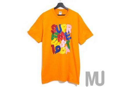 Supreme Balloons Tee Orangeの写真