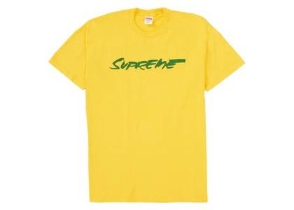 Supreme Futura Logo Tee Yellowの写真