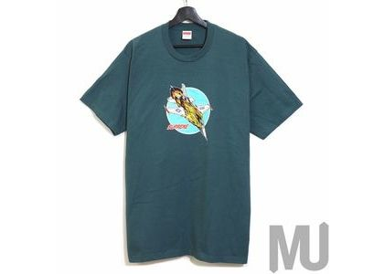 Supreme Jet Tee Dark Tealの写真