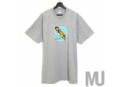 Supreme Jet Tee Heather Greyの写真