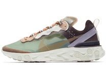 UNDERCOVER × NIKE REACT ELEMENT 87 GREEN MISTの写真