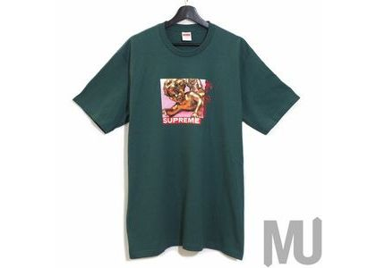 Supreme Lovers Tee Dark Tealの写真
