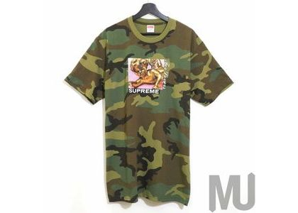Supreme Lovers Tee Woodland Camoの写真
