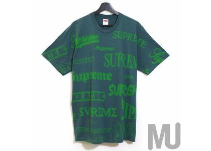 Supreme Multi Logo Tee Dark Tealの写真