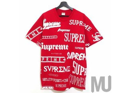 Supreme Multi Logo Tee Redの写真