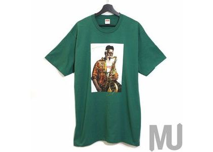 Supreme Pharoah Sanders Tee Light Pineの写真