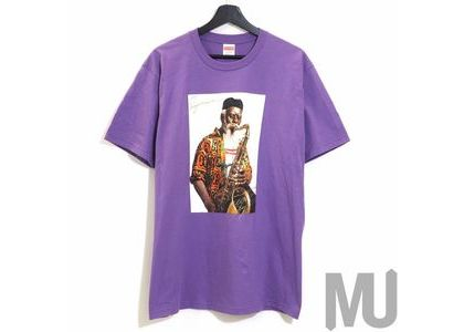 Supreme Pharoah Sanders Tee Purpleの写真