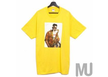 Supreme Pharoah Sanders Tee Yellowの写真