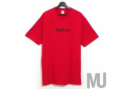 Supreme Stay Positive Tee Redの写真