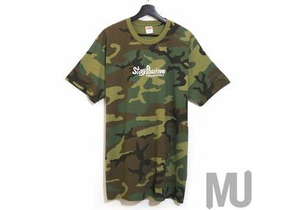Supreme Stay Positive Tee Woodland Camoの写真