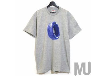 Supreme Tire Tee Heather Greyの写真