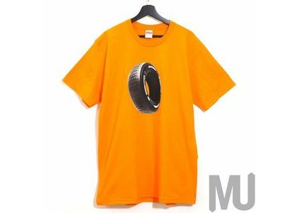 Supreme Tire Tee Orangeの写真