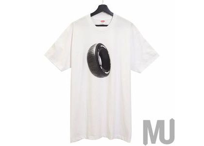 Supreme Tire Tee Whiteの写真