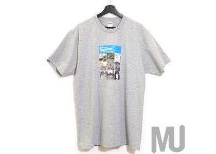 Supreme Verify Tee Heather Greyの写真