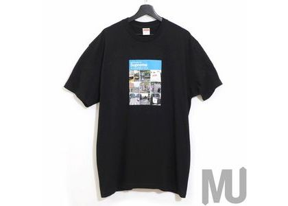 Supreme Verify Tee Navyの写真