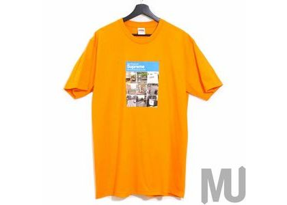 Supreme Verify Tee Orangeの写真