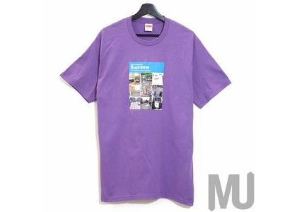 Supreme Verify Tee Purpleの写真
