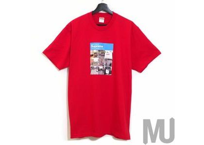 Supreme Verify Tee Redの写真