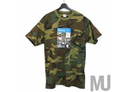 Supreme Verify Tee Woodland Camoの写真