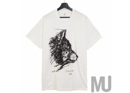Supreme Yohji Yamamoto Scribble Wolf Tee Whiteの写真