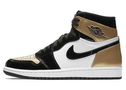 Nike Air Jordan 1 Retro High OG Gold Toe (2018)の写真