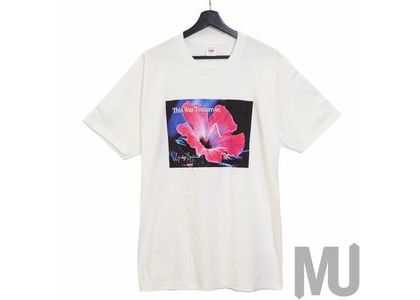 Supreme Yohji Yamamoto This Was Tomorrow Tee Whiteの写真