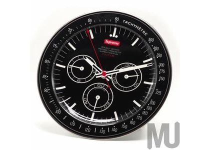Supreme Watch Plate Blackの写真