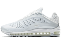 "NIKE AIR MAX DELUXE ""TRIPLE WHITE"""