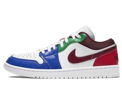 Nike Air Jordan 1 Low SE White Multi Womensの写真