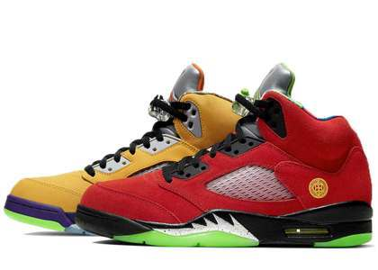 Nike Air Jordan 5 Retro What Theの写真