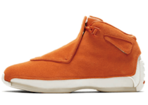 Nike Air Jordan 18 Retro Orangeの写真