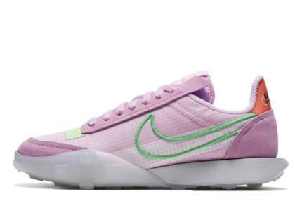 Nike Waffle Racer 2X Arctic Pink Womensの写真