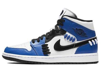 Nike Air Jordan 1 Mid SE Game Royal Sisterhood Womensの写真