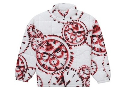 Supreme Watches Reversible Puffy Jacket Whiteの写真