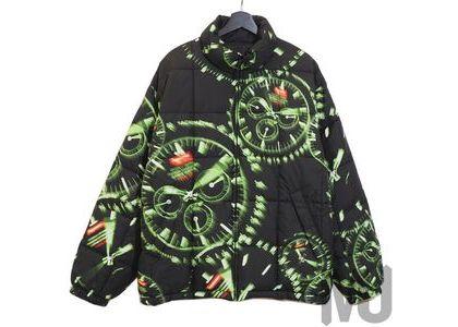 Supreme Watches Reversible Puffy Jacket Blackの写真