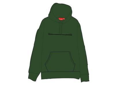 Supreme Shop Hooded Sweatshirt Japan Lightoliveの写真