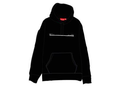Supreme Shop Hooded Sweatshirt Japan Blackの写真