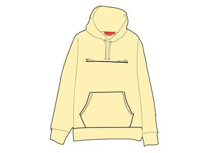 Supreme Shop Hooded Sweatshirt Japan Naturalの写真