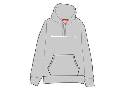 Supreme Shop Hooded Sweatshirt Japan Heathergreyの写真