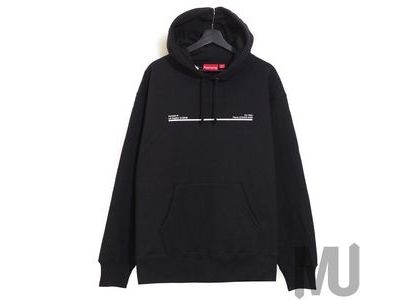Supreme Shop Hooded Sweatshirt Los Angels Blackの写真