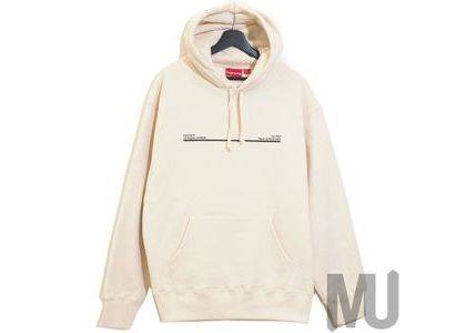 Supreme Shop Hooded Sweatshirt Los Angels Naturalの写真