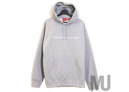 Supreme Shop Hooded Sweatshirt Los Angels Heather Greyの写真